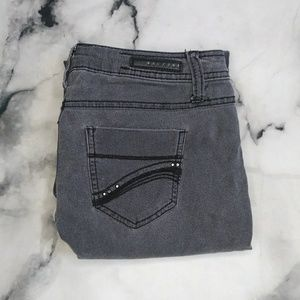Buccini Embellished Straight Leg Jeans Size 4
